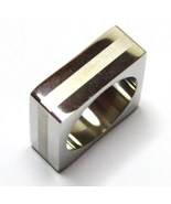 SSR1864 White Resin Square Stainless Steel Stat... - $12.99