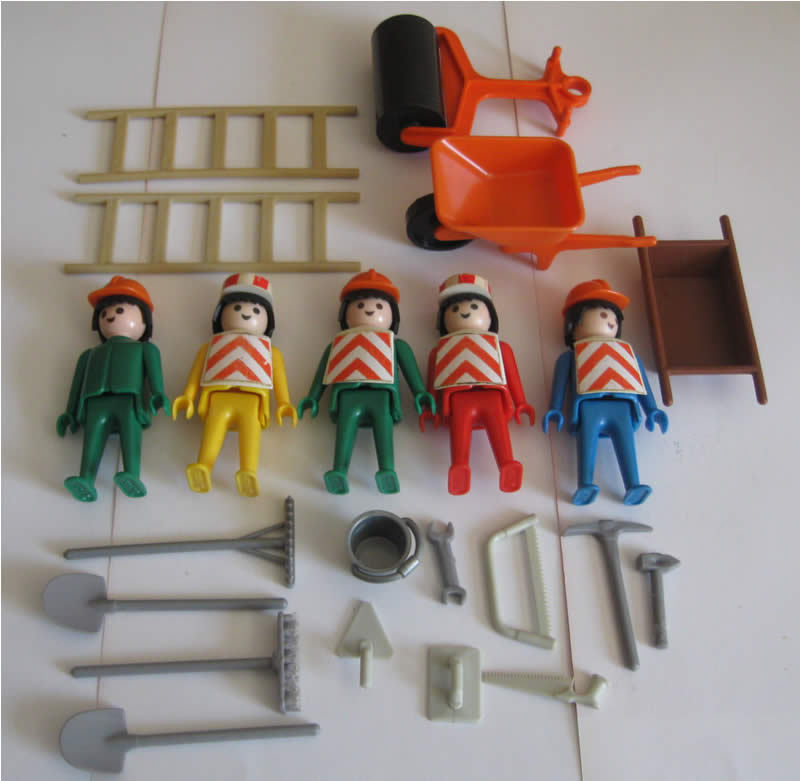 Playmobil-constructionset