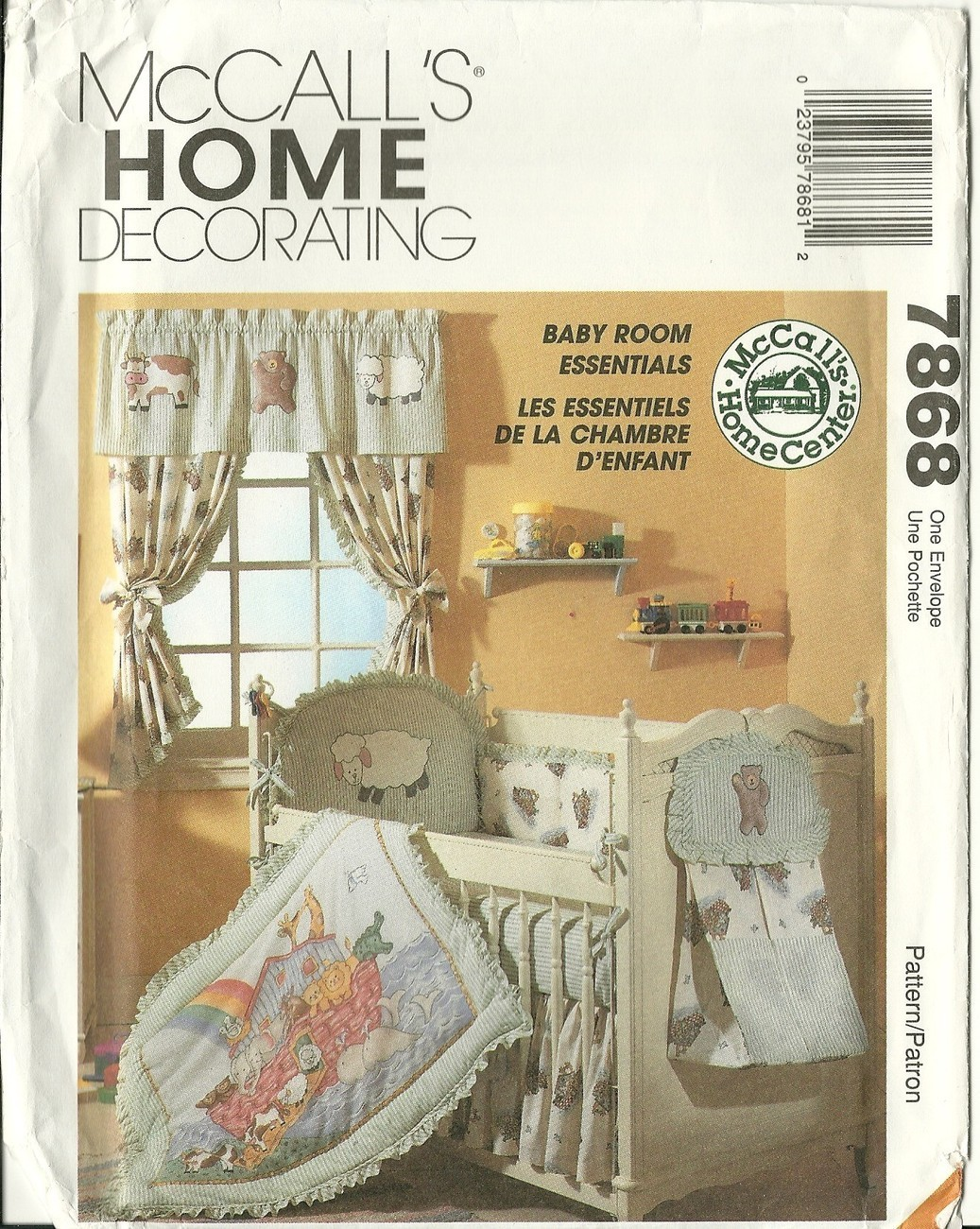 Mccall S Sewing Pattern 7868 Nursery Baby Room Essentials Home Decorators Catalog Best Ideas of Home Decor and Design [homedecoratorscatalog.us]