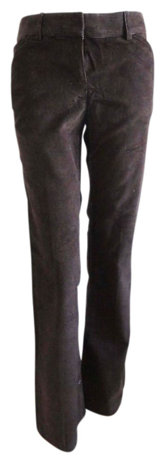 Victoria's Secret Christie Fit brown corduroy pants size 10 Brand New NWOT