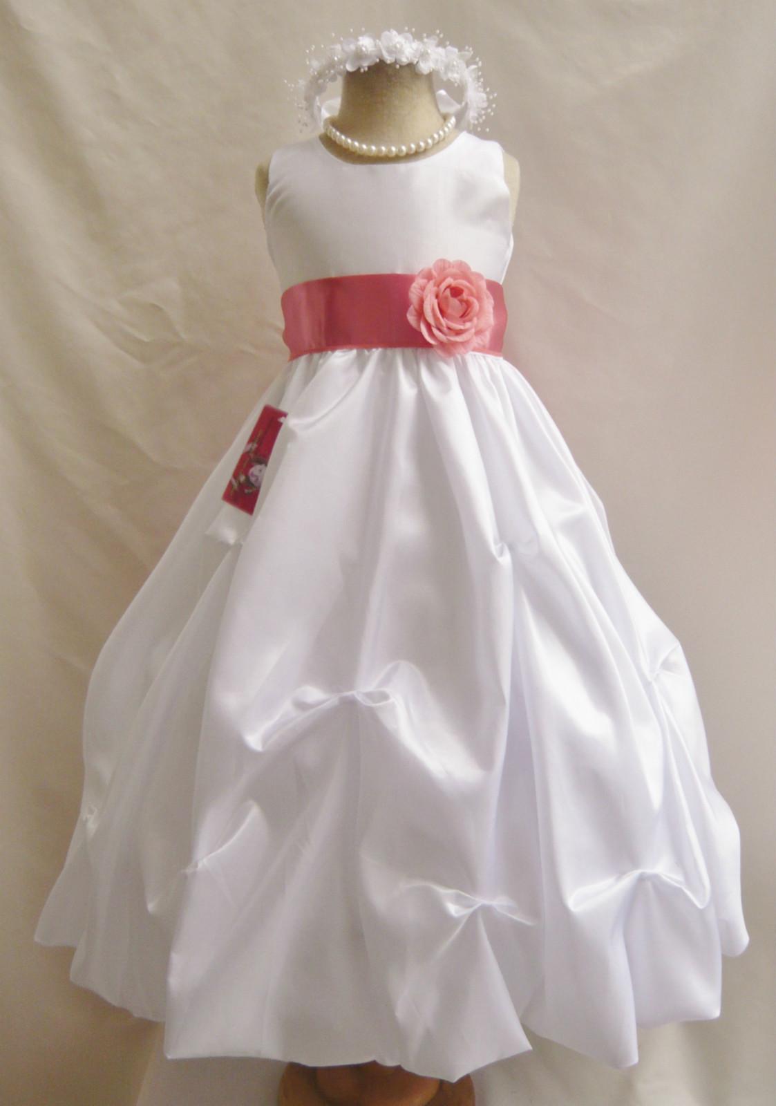 White Flower Girl Dresses Nz Wedding Short Dresses