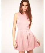 Brand New: ASOS Skater Dress with Zip Back in Y... - $45.00