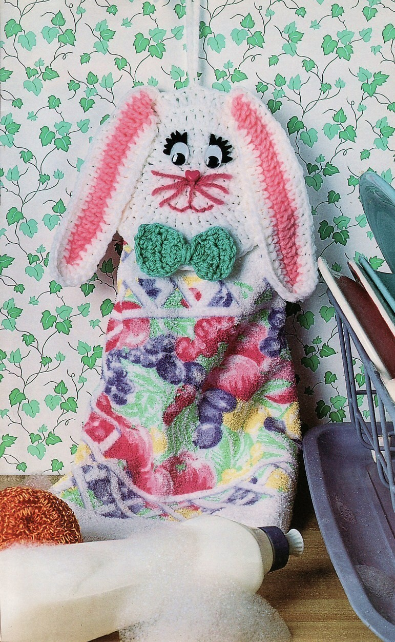 Free Crochet Pattern 80096AD Easter Basket : Lion Brand Yarn Company