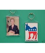 Hillary Clinton Democrat 2 Photo Collectible Ke... - $9.95