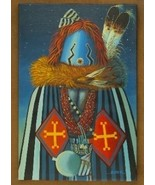 The Night Yei Dancer Navajo Painting Limited Ed... - $222.07