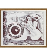Limited Edition Native American Gambling Print ... - $49.97