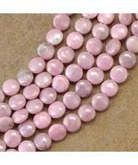 10mm Rhodochrosite Pink Beads 16 inch Strand - $32.97