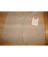 Ladies Route 66 beige Khaki Shorts Size 14 New ... - $9.99