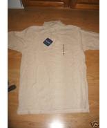 Men John Ashford Beige Cotton Pique Polo Pearl ... - $14.99