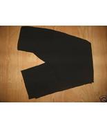 Ladies Black Dress Pants Work Uniform Side Zipp... - $9.99