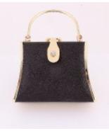 925-GBK  Black and Gold Evening Bag - $20.00