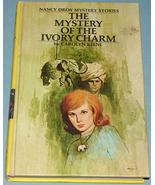 Nancy Drew #13 Mystery Ivory Charm 1st Rev Text - $9.99