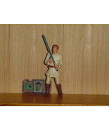 HASBRO STAR WARS EPISODE ONE OBI-WAN KENOBI FIG... - $4.00