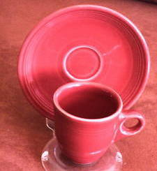 Fiesta Scarlet Demitasse (After Dinner) Set