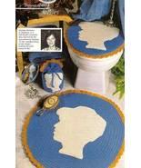 Y366 Crochet PATTERN ONLY Cameo Bath Set, Bath ... - $6.45