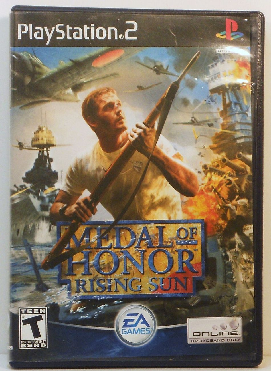 Medal of Honor Rising Sun Sony Playstation 2 video game 2003