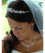 Couture Crystal Bridal Jewelry and Tiara Set Pi... - $139.99