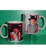Kenny Chesney 2 Photo Designer Collectible Mug 01 - $14.95