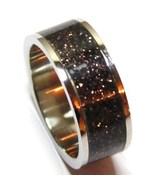 SSR1794 - Size 8 - Unisex Black/Copper Glitter ... - $11.99