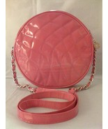 TOLEDANO HOT PINK QUILTED FAUX PATENT LEATHER P... - $27.99