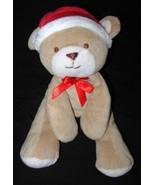 Carter's Just One Year Santa Hat Bear Plush Stu... - $7.98
