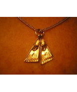 Scuba Diving Charm Necklace Delicate Gold Chain... - $25.00