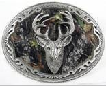 Buy Mossy Oak Deer Hunting Enamel Pewter Buckle,Sport Buckl