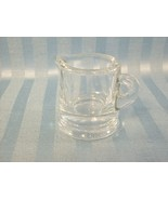 Small Clear Glass Creamer or Syrup Pitcher - Cu... - $1.00
