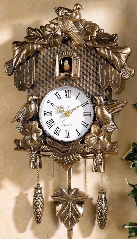 Classic Bavarian Clock Replica