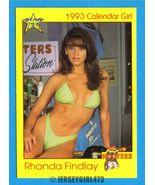 Rhonda Findlay 1993 Hooters Calendar Girl Card #99 - $2.00