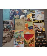 Lot of 13 Vintage Cookbook Softcover Booklets - $9.00