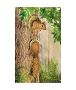Woodland Squirrel Tree decor Two-piece decorati... - $8.79