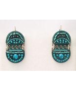 Signed ADAYA Maya Rayten Micro Mosaic Earrings - $42.00