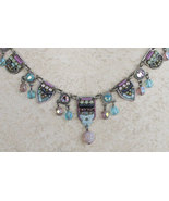 Signed ADAYA Maya Rayten Mosaic Necklace - $85.00