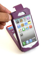 Navor Flip Wallet Card Leather Case for iPhone ... - $15.50