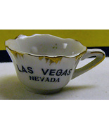Vintage Las Vegas Porcelain Tea Cup Collectible - $5.00