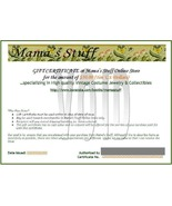 Mama's Stuff $10.00 Gift Certificate - $10.00