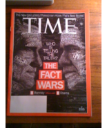 Time Magazine The Fact Wars Who is Telling The ... - $4.00