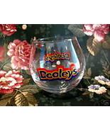 Dooleys Shot Glass Souvenir Toffee Vodka Cream Liqueur No Tip Wobbly Collectible - $5.99