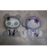 Skelanimals Bride Monkey and Groom Bear Figures - $17.99