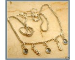 "Buy NEW .925 SILVER & MISTY BLUE TOPAZ NECKLACE 16""! GIFT!"