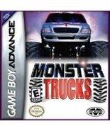 Monster Trucks GBA Nintendo Game Boy Advance Ga... - $7.95