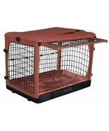 Deluxe Steel Dog Crate with Bolster Pad  - Medi... - $232.40