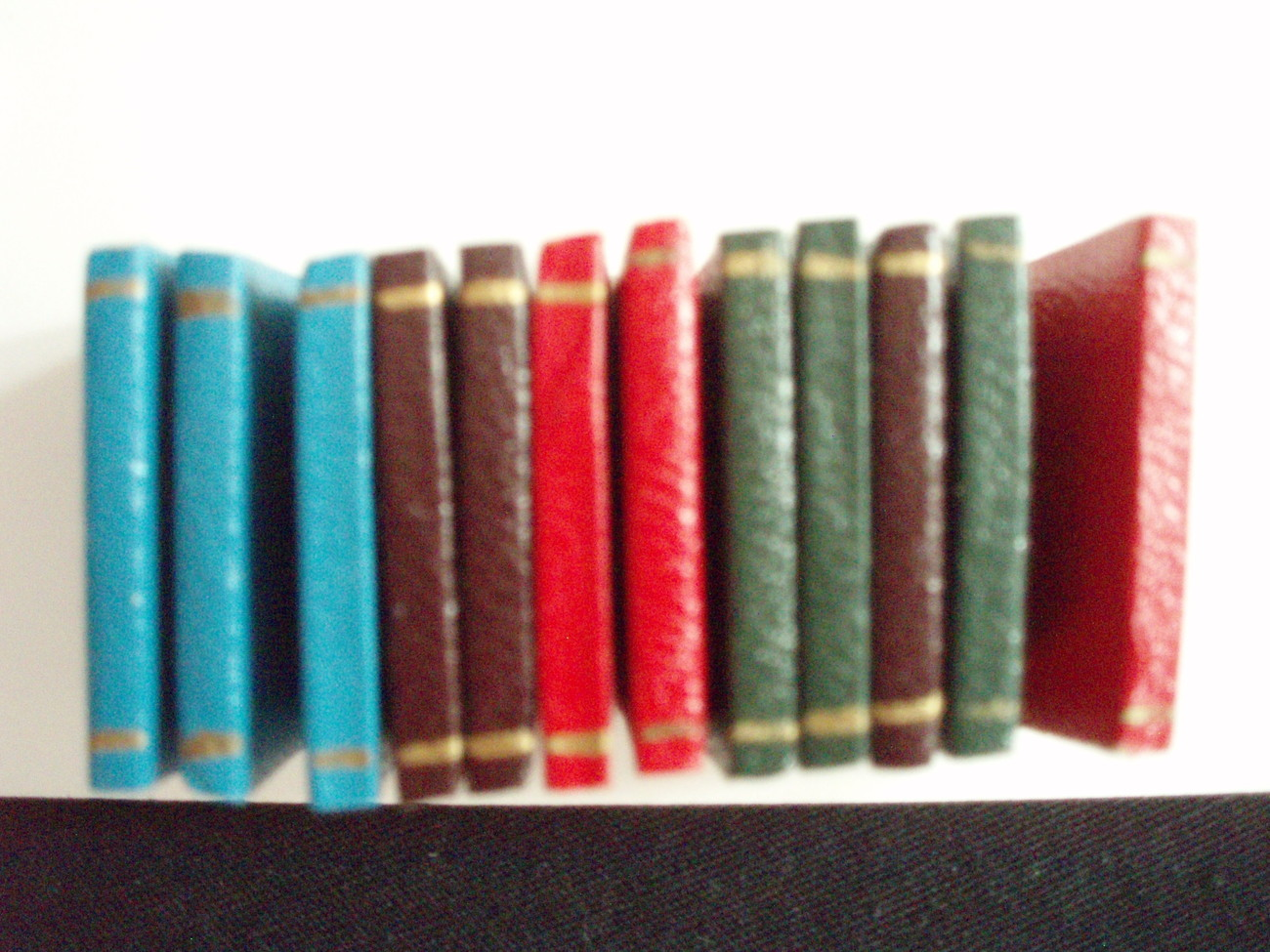 Dollhouse Miniature  Books 12 volumes