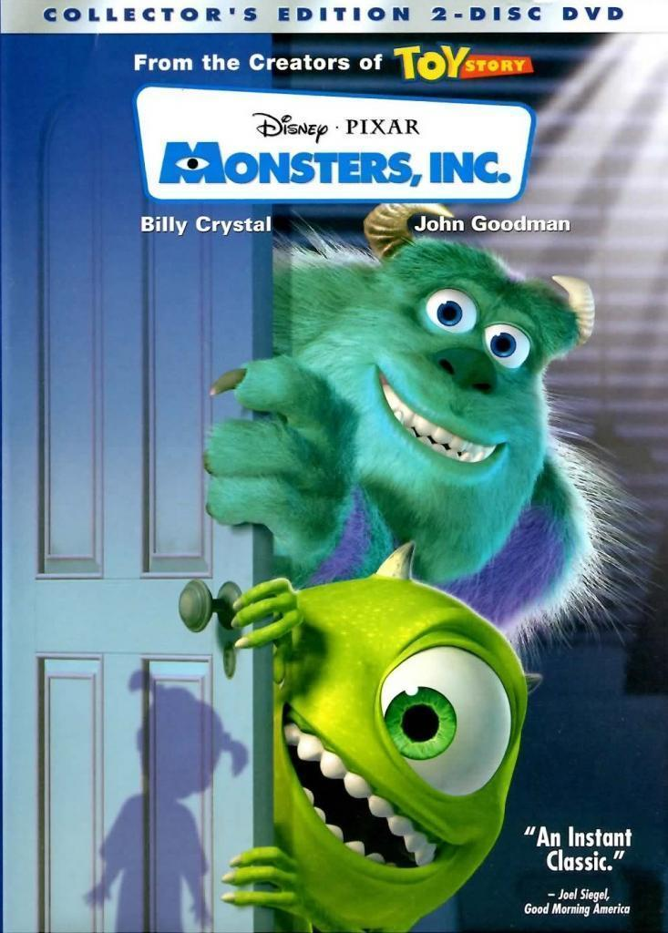 MONSTERS INC 2 DISC COLLECTORS EDITION DVD 2002 RARE
