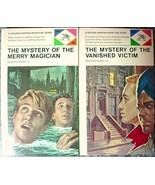 2 Lot Ellery Queen Jr mysteries MERRY MAGICIAN ... - $20.00