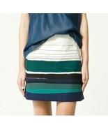 Brand New: Zara Striped Mini Skirt, size S - $100.00