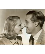 c101 Ray MILLAND Ann TODD great CLOSEUP PROFILE... - $14.99