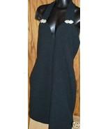 Sexy Susan Roselli VIJACK black deep V halter D... - $22.99