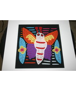 2 4 1 Kuna Mola Collectable Panels Stretched Ma... - $36.62